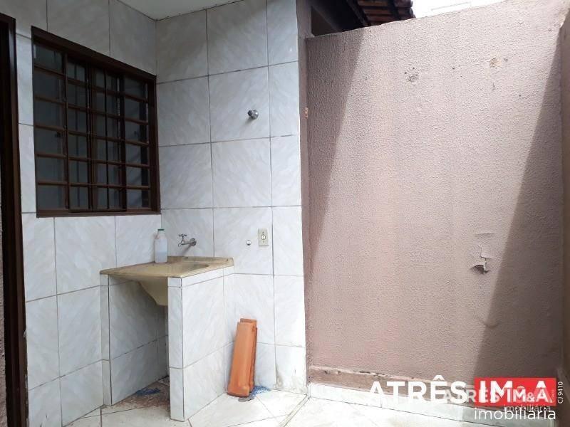 casa com 2 dormitórios para alugar, 60 m² por r$ 650,00 - jardim bela vista - aparecida de goiânia/go - ca0051