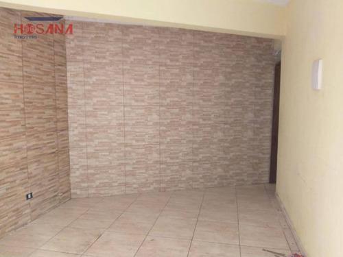 casa com 2 dormitórios para alugar, 62 m² por r$ 800/mês - jardim luíza - francisco morato/sp - ca0650