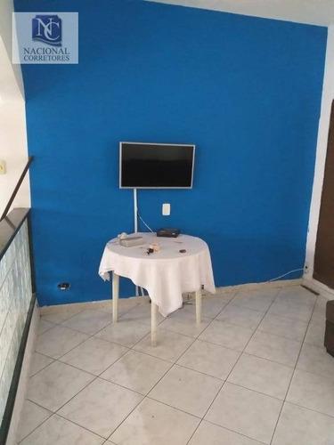 casa com 2 dormitórios para alugar, 70 m² por r$ 1.250/mês - vila francisco matarazzo - santo andré/sp - ca2651