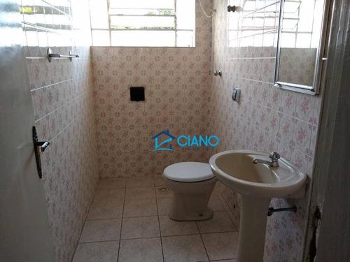 casa com 2 dormitórios para alugar, 80 m² por r$ 1.400/mês - mooca - são paulo/sp - ca0144