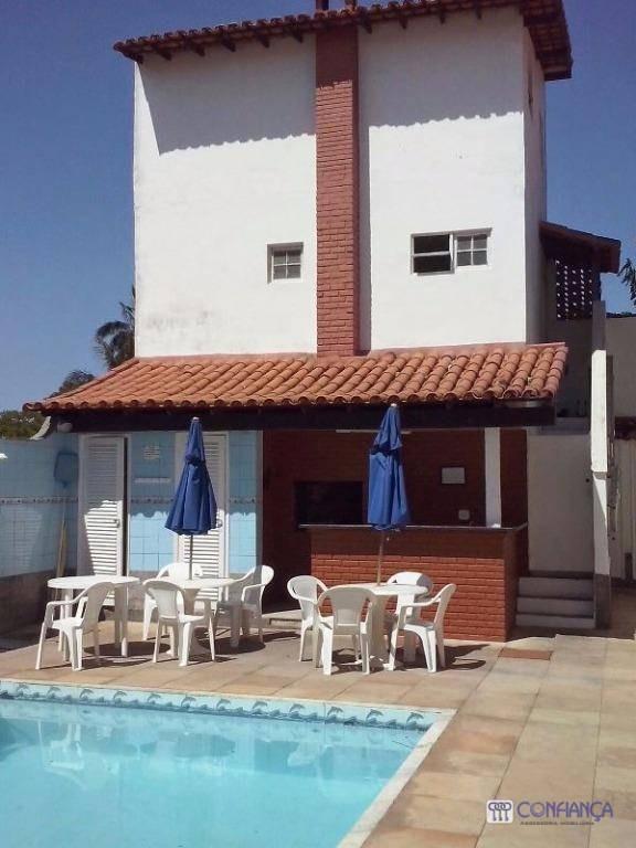 casa com 2 dormitórios para alugar, 80 m² por r$ 3.000 - portinho - cabo frio/rj - ca0232