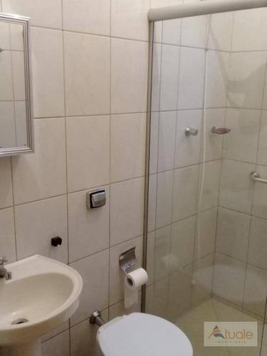 casa com 2 dormitórios para alugar, 80 m² - vila azenha - nova odessa/sp - ca6430
