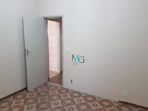 casa com 2 dormitórios para alugar, 90 m² por r$ 1.200/mês - campo grande - rio de janeiro/rj - ca0439
