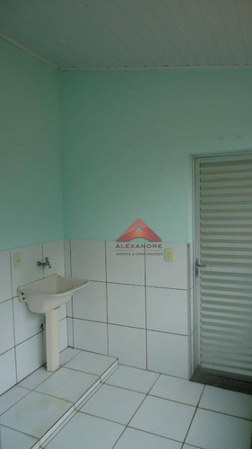 casa com 2 dormitórios para alugar, 90 m² por r$ 1.500,00 - vila tesouro - são josé dos campos/sp - ca2277