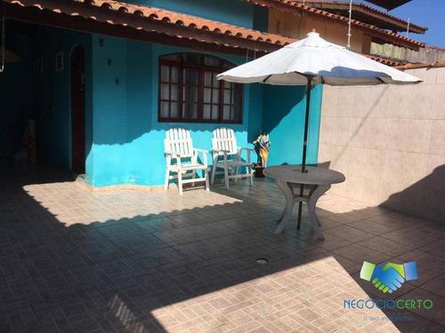 casa com 2 dormitórios para alugar, 90 m² por r$ 500/dia - ca0366