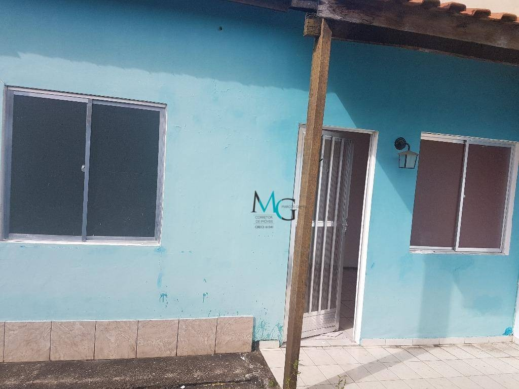 casa com 2 dormitórios para alugar, 95 m² por r$ 900,00/mês - campo grande - rio de janeiro/rj - ca0250
