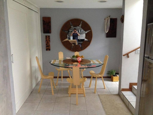 casa com 2 dormitórios para alugar por r$ 1.000/dia - praia brava - itajaí/sc - ca0218