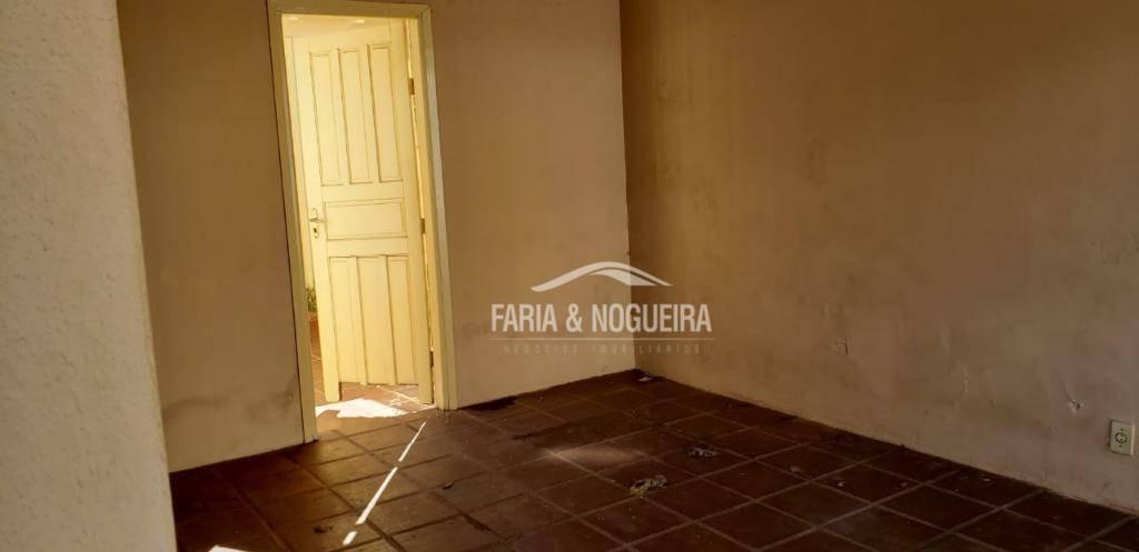 casa com 2 dormitórios para alugar por r$ 1.200/mês - centro - rio claro/sp - ca0494