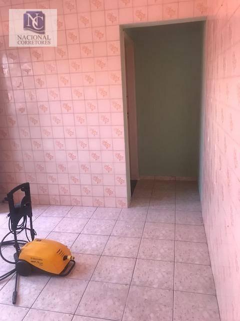 casa com 2 dormitórios à venda, 100 m² por r$ 350.000,00 - vila cláudio - santo andré/sp - ca2242
