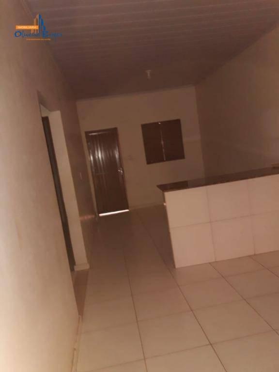 casa com 2 dormitórios à venda, 100 m² por r$ 75.000,00 - residencial cidade industrial - anápolis/go - ca1167