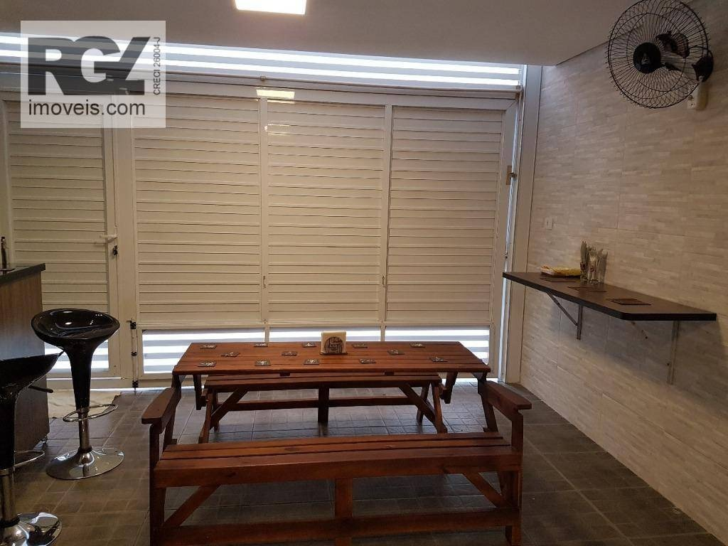 casa com 2 dormitórios à venda, 104 m² por r$ 450.000 - marapé - santos/sp - ca0553