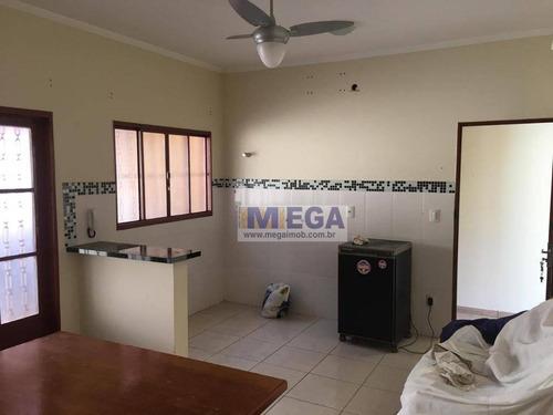 casa com 2 dormitórios à venda, 110 m² por r$ 370.000 - parque via norte - campinas/sp - ca0994