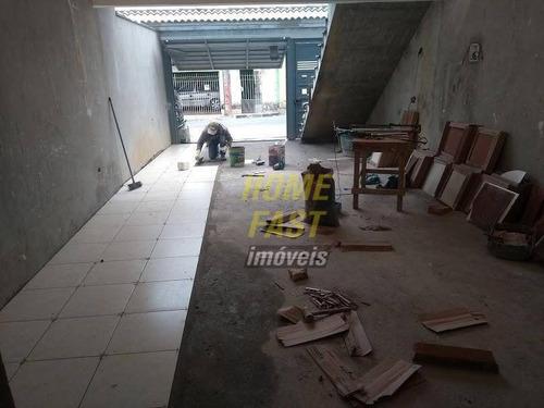 casa com 2 dormitórios à venda, 110 m² por r$ 530.000,00 - jardim terezópolis - guarulhos/sp - ca0399