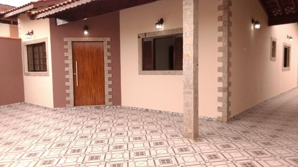 casa com 2 dormitórios à venda, 115 m² por r$ 360.000 - balneário gaivota - itanhaém/sp - ca0238