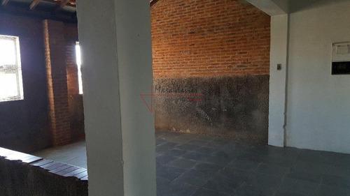 casa com 2 dormitórios à venda, 116 m² por r$ 350.000 - centro - vinhedo/sp - ca2254