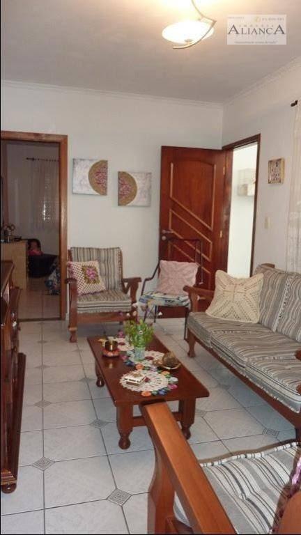 casa com 2 dormitórios à venda, 124 m² por r$ 450.000 - assunção - são bernardo do campo/sp - ca0270