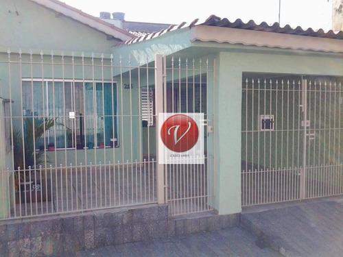 casa com 2 dormitórios à venda, 126 m² por r$ 445.000 - casa branca - santo andré/sp - ca3009