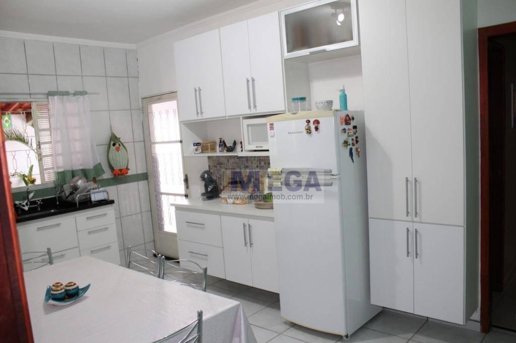 casa com 2 dormitórios à venda, 130 m² por r$ 340.000,00 - parque jambeiro - campinas/sp - ca0822