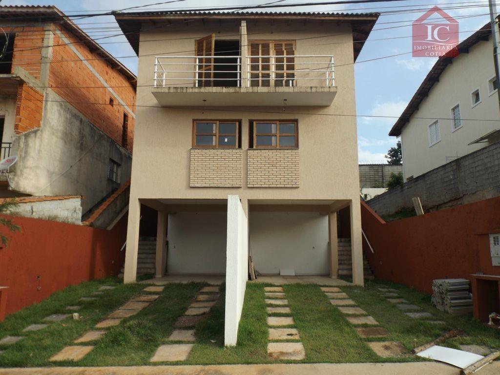 casa com 2 dormitórios à venda, 135 m² por r$ 380.000,00 - jardim rio das pedras - cotia/sp - ca1171