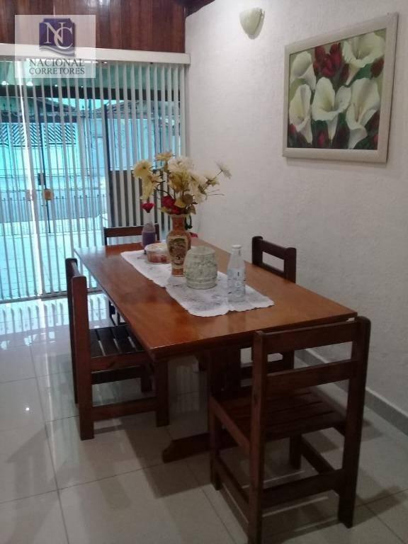 casa com 2 dormitórios à venda, 142 m² por r$ 380.000 - nova mirim - praia grande/sp - ca2741