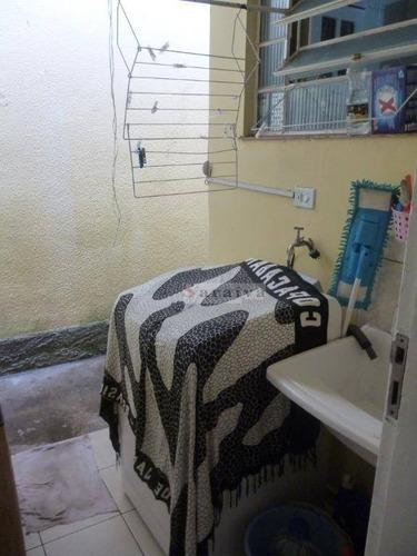 casa com 2 dormitórios à venda, 143 m² por r$ 450.000,00 - jardim copacabana - são bernardo do campo/sp - ca0299