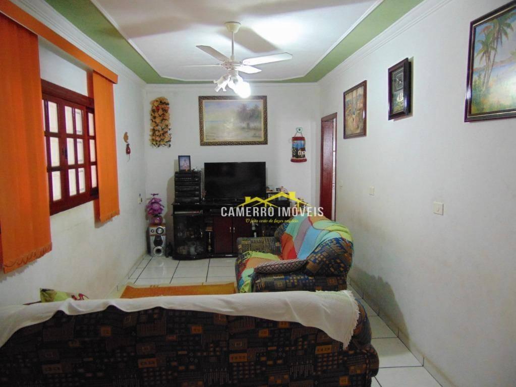 casa com 2 dormitórios à venda, 150 m² por r$ 255.000 - jardim paz - americana/sp - ca0377