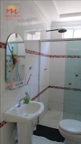 casa com 2 dormitórios à venda, 150 m² por r$ 290.000 - ca0454