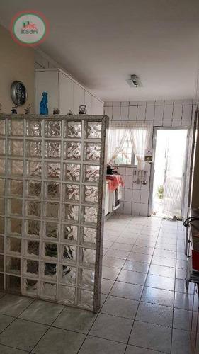 casa com 2 dormitórios à venda, 156 m² por r$ 585.000 - canto do forte - praia grande/sp - ca1032