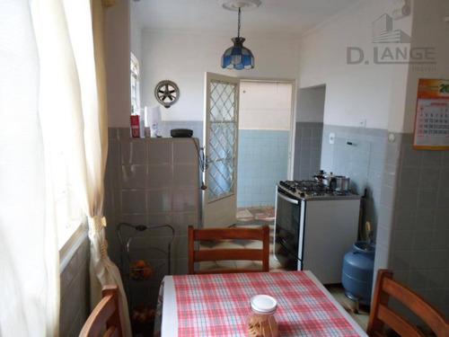 casa com 2 dormitórios à venda, 180 m² por r$ 420.000 - jardim chapadão - campinas/sp - ca7972