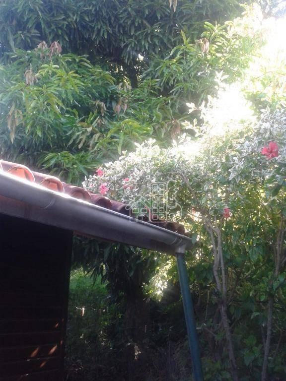 casa com 2 dormitórios à venda, 200 m² por r$ 320.000 - serra grande - niterói/rj - ca0914
