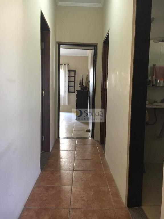 casa com 2 dormitórios à venda, 205 m² por r$ 650.000 - jardim aparecida - campinas/sp - ca0743