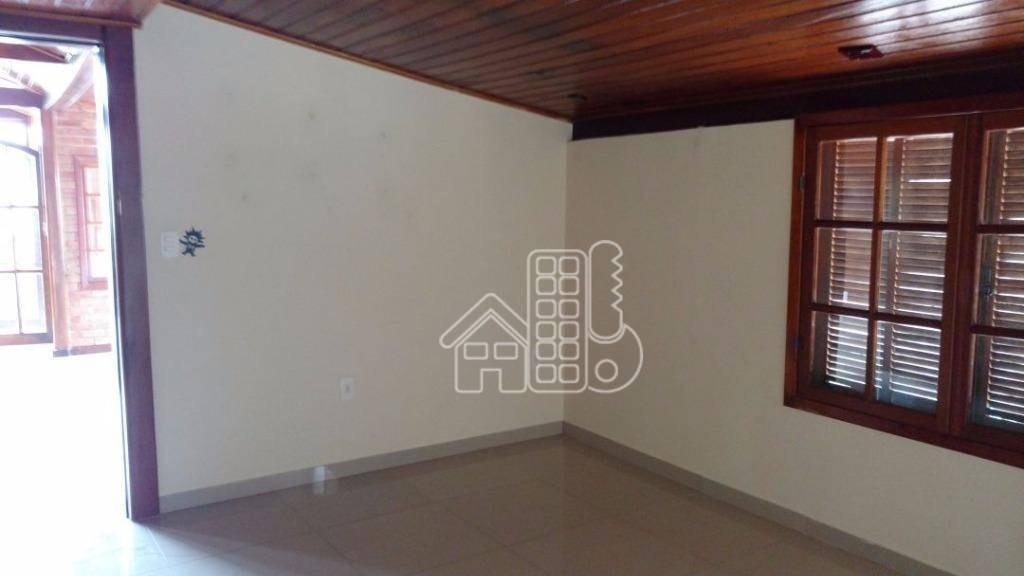 casa com 2 dormitórios à venda, 211 m² por r$ 250.000,00 - baldeador - niterói/rj - ca0322