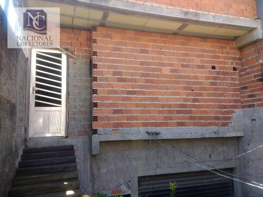 casa com 2 dormitórios à venda, 220 m² por r$ 390.000 - jardim rina - santo andré/sp - ca2252