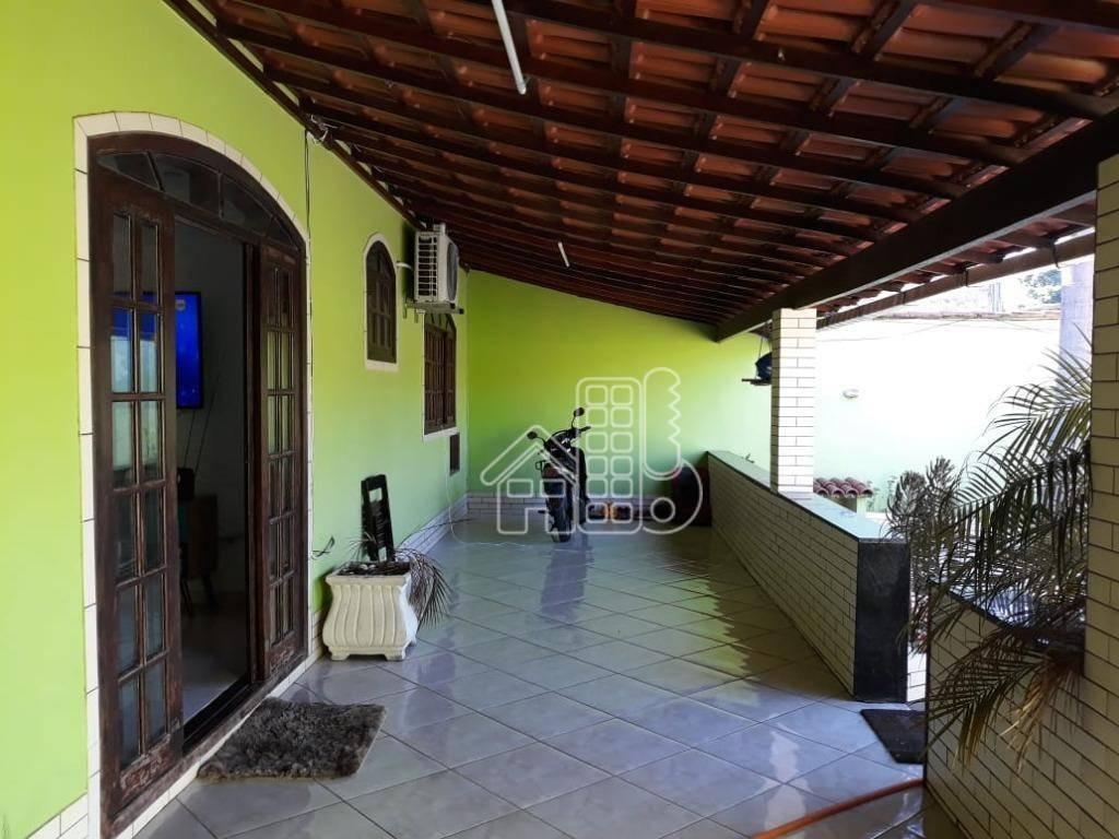 casa com 2 dormitórios à venda, 250 m² por r$ 470.000 - mutuá - são gonçalo/rj - ca0930
