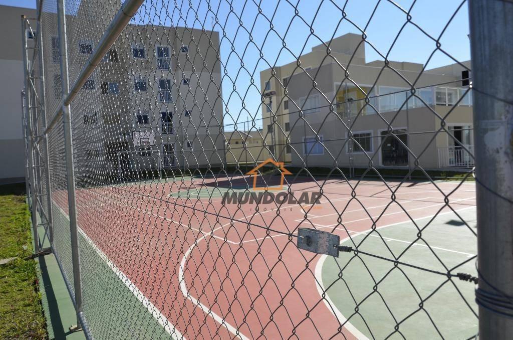 casa com 2 dormitórios à venda, 37 m² por r$ 138.000,00 - capela velha - araucária/pr - ca1551