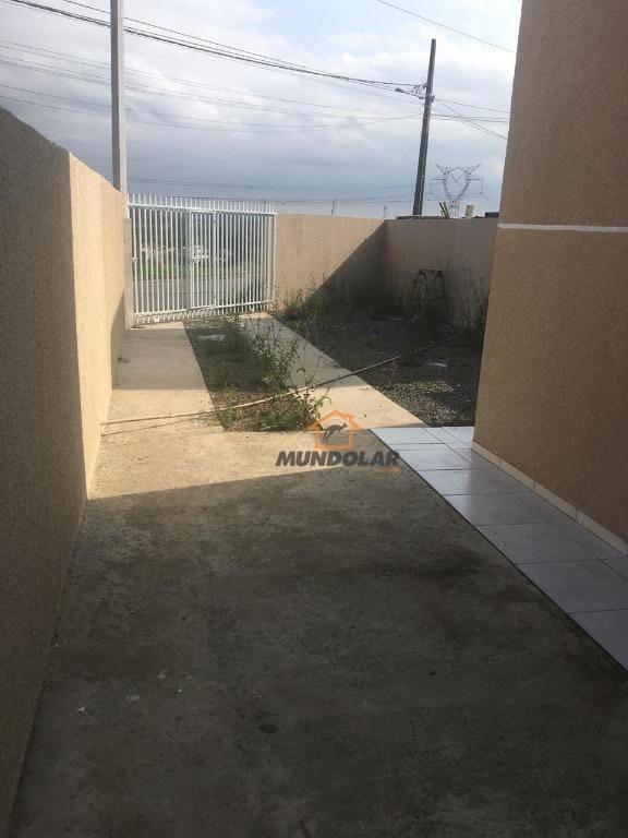casa com 2 dormitórios à venda, 42 m² por r$ 180.000,00 - costeira - araucária/pr - ca1580