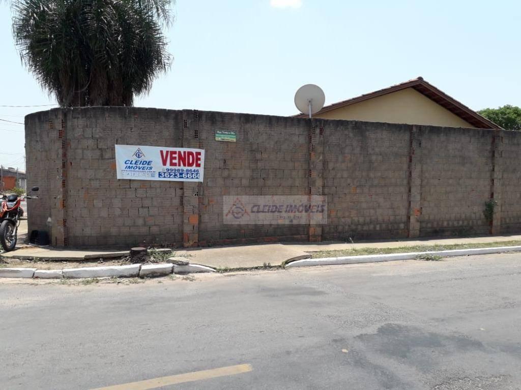 casa com 2 dormitórios à venda, 44 m² por r$ 150.000 - mandori - cuiabá/mato grosso - ca1205