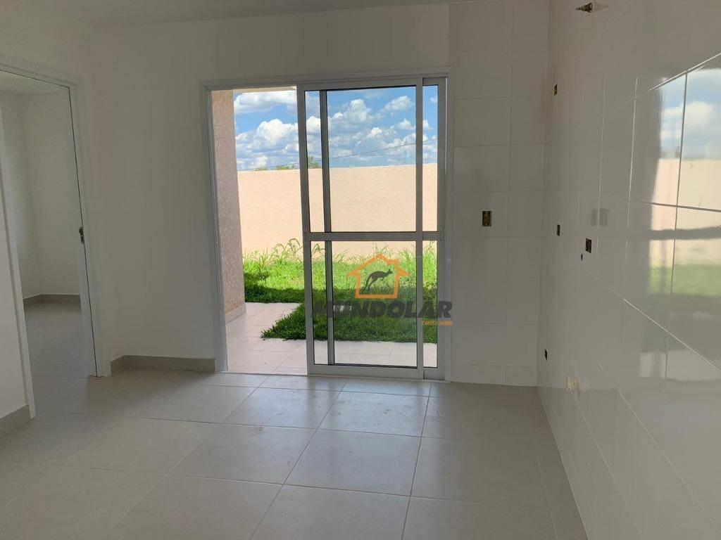 casa com 2 dormitórios à venda, 50 m² por r$ 171.500 - costeira - araucária/pr - ca1572