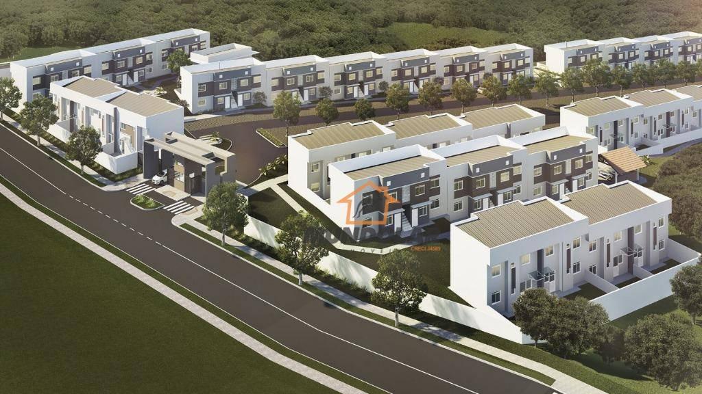 casa com 2 dormitórios à venda, 52 m² por r$ 160.000,00 - costeira - araucária/pr - ca1549