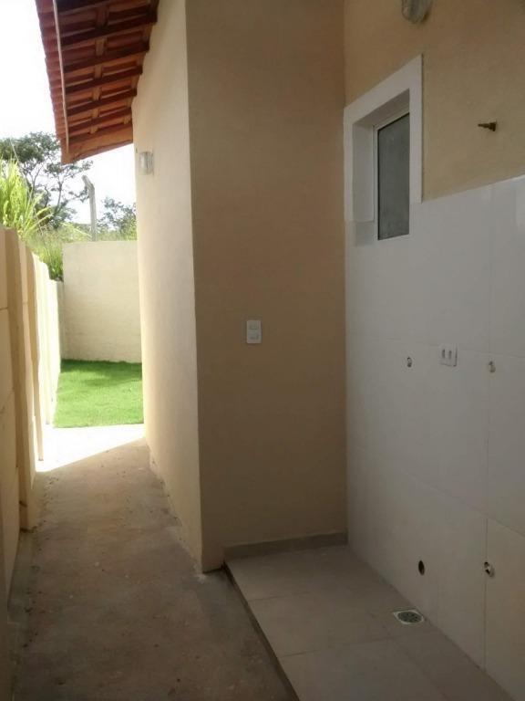 casa com 2 dormitórios à venda, 53 m² por r$ 180.000,00 - jardim são felipe - atibaia/sp - ca0293