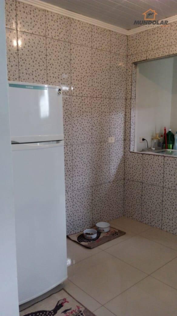 casa com 2 dormitórios à venda, 54 m² por r$ 170.000 - estação - araucária/pr - ca1485