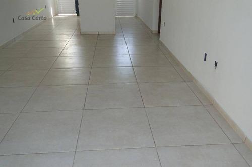 casa com 2 dormitórios à venda, 54 m² por r$ 172.000 - jardim santa cruz - mogi guaçu/sp - ca1465