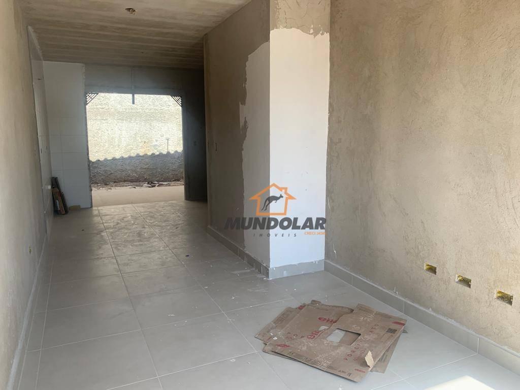 casa com 2 dormitórios à venda, 55 m² por r$ 184.000 - costeira - araucária/pr - ca1571