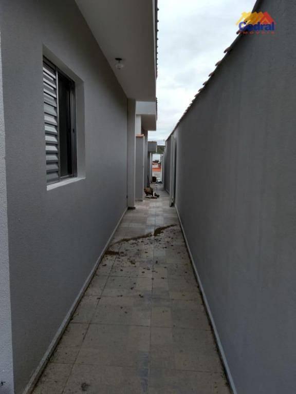 casa com 2 dormitórios à venda, 55 m² por r$ 210.000,00 - vila suissa - mogi das cruzes/sp - ca0590