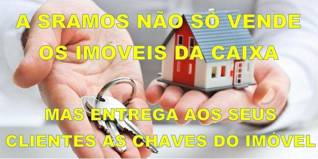 casa com 2 dormitórios à venda, 55 m² por r$ 62.960,01 - residencial jardim atlântico - araçatuba/sp - ca1647