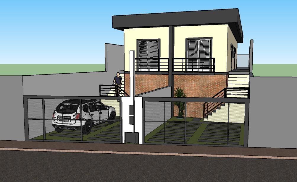 casa com 2 dormitórios à venda, 56 m² por r$ 210.000 - jardim são felipe - atibaia/sp - ca0447
