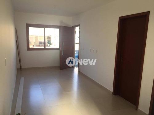 casa com 2 dormitórios à venda, 56 m² por r$ 255.000 - rincão - novo hamburgo/rs - ca2783