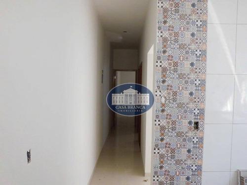 casa com 2 dormitórios à venda, 60 m² por r$ 170.000 - umuarama - araçatuba/sp - ca1187