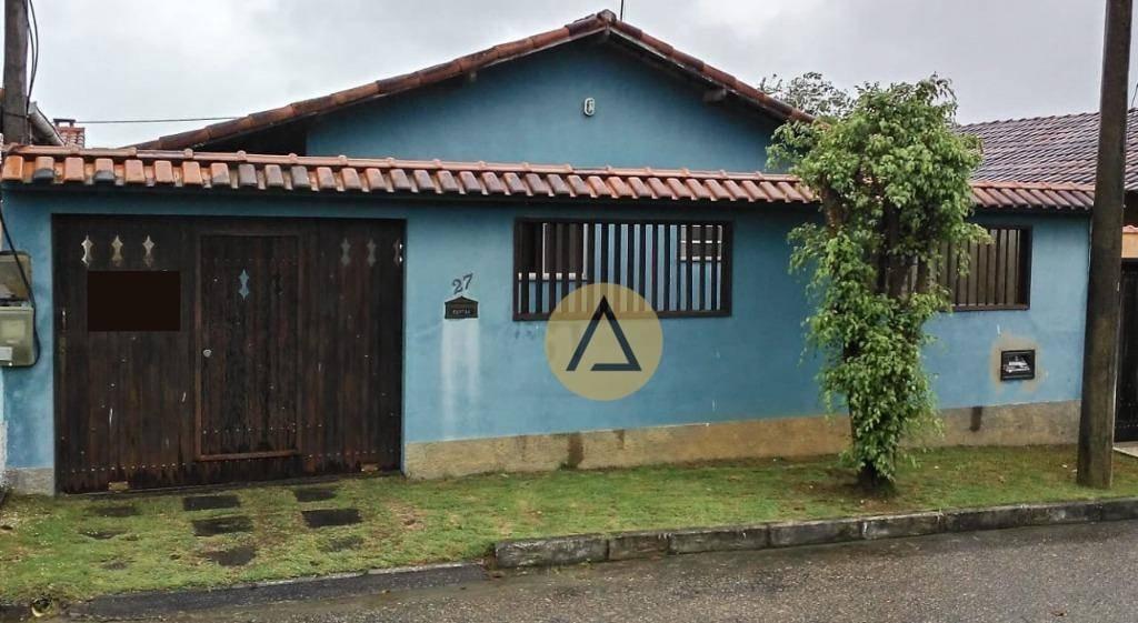 casa com 2 dormitórios à venda, 60 m² por r$ 220.000 - horto - macaé/rj - ca1127