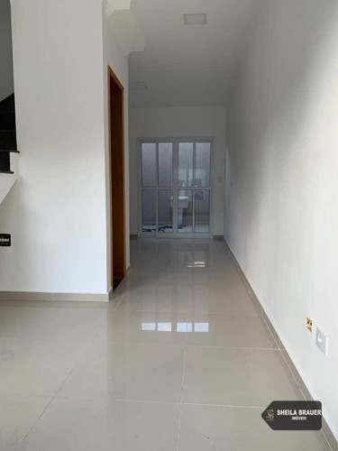 casa com 2 dormitórios à venda, 60 m² por r$ 350.000 - jardim maria estela - são paulo/sp - ca0012